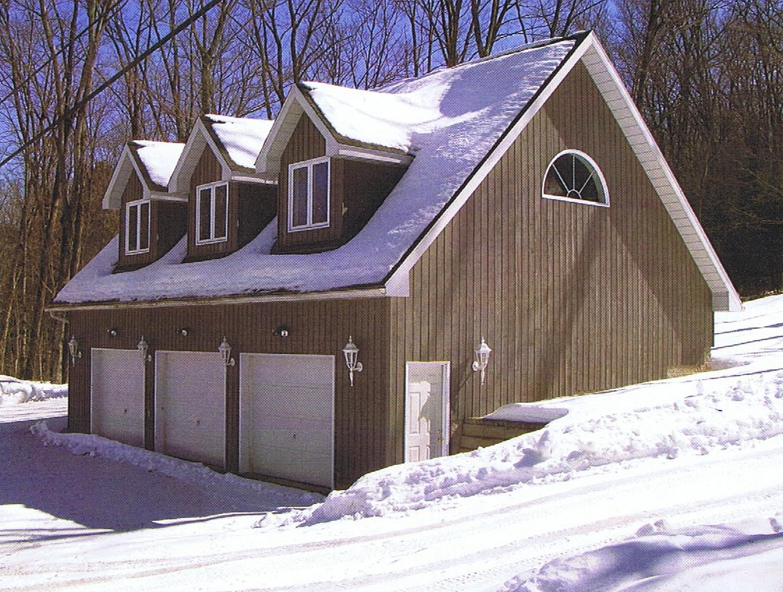 Haliburton lumber serving haliburton county since 1968 for Garage with dormers